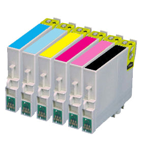 Epson T0807 Compatible Multi Pack Of Ink Cartridges