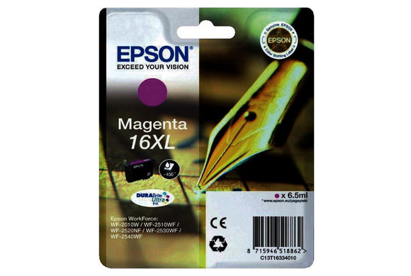Epson T1633XL Hi Capacity Magenta Ink Cartridge