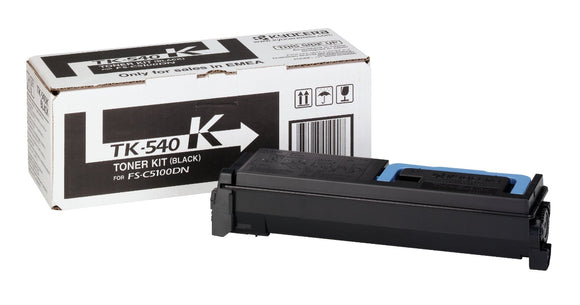 Kyocera TK540 Black Toner Cartridge