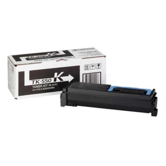 Kyocera TK-550 Black Toner Cartridge
