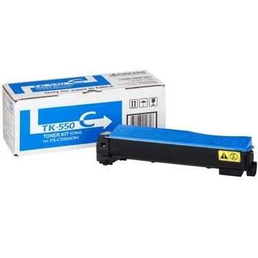 Kyocera TK-550 Cyan Toner Cartridge