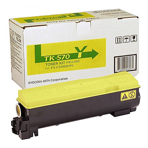 Best Kyocera TK570 Yellow Toner
