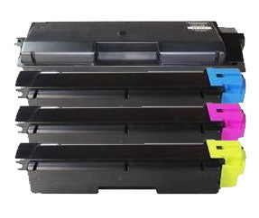 Kyocera TK580 Valuepack x 4 Compatible Toner Caridges