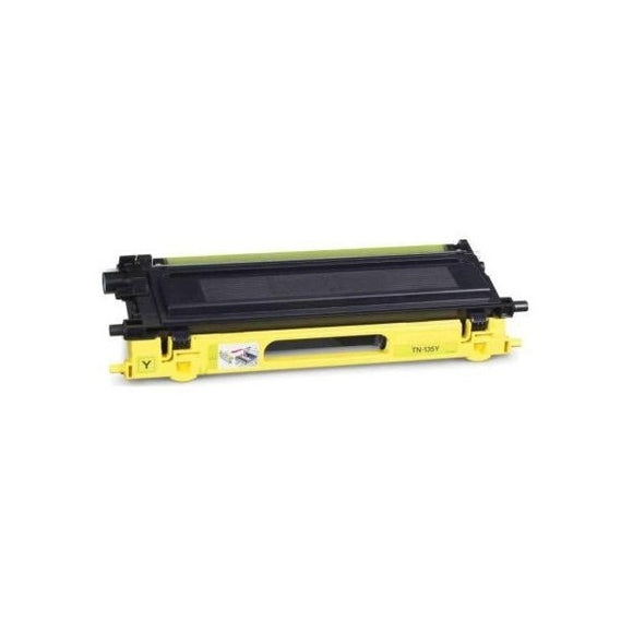 Brother TN135 Compatible Yellow Toner Cartridge