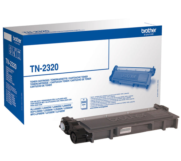 Brother TN2320 Black Hi Capacity Toner Cartridge