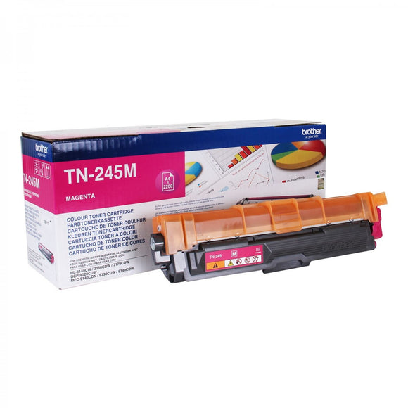 Brother TN245 Magenta Toner Cartridge