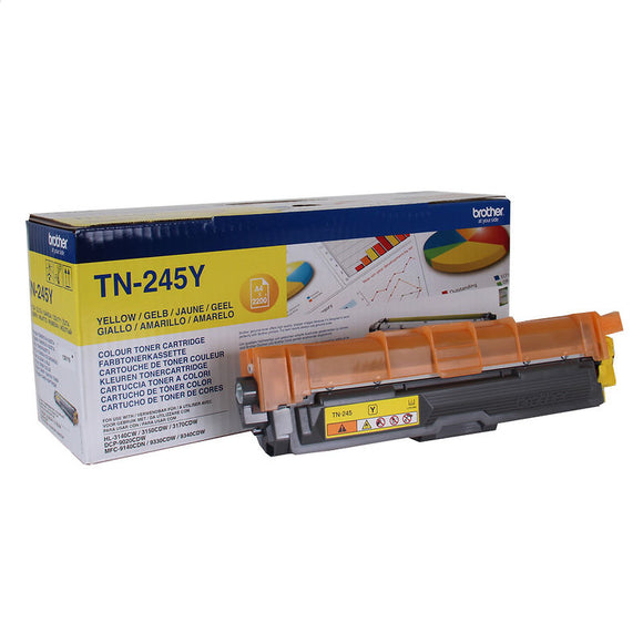 Brother TN245 Yellow Toner Cartridge