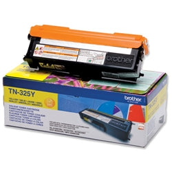 Brother TN325 Yellow Toner Cartridge