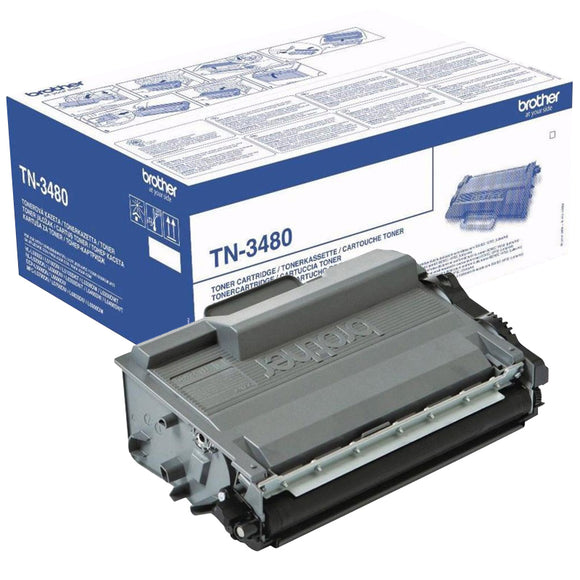 Brother TN3480 Hi Capacity Black Toner Cartridge