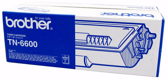Brother TN6600 Black Toner Cartridge