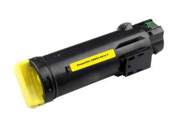 Xerox Phaser 6510 Yellow Toner Compatible Cartridge