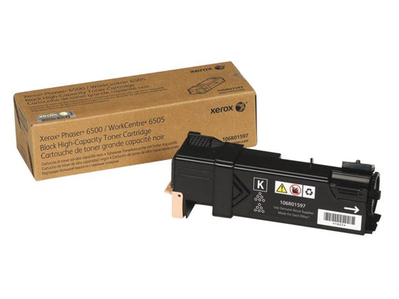 Xerox 106R01597 Hi Capacity Black Toner cartridge