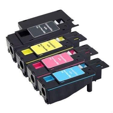 Xerox WorkCentre 6025 Value pack x 4 Compatible Toner Cartridges