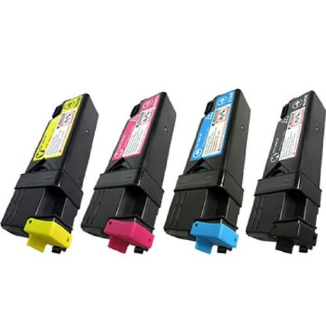 Xerox 6140 Multi Pack Compatible Bk,C,M & Y Toner Cartridge