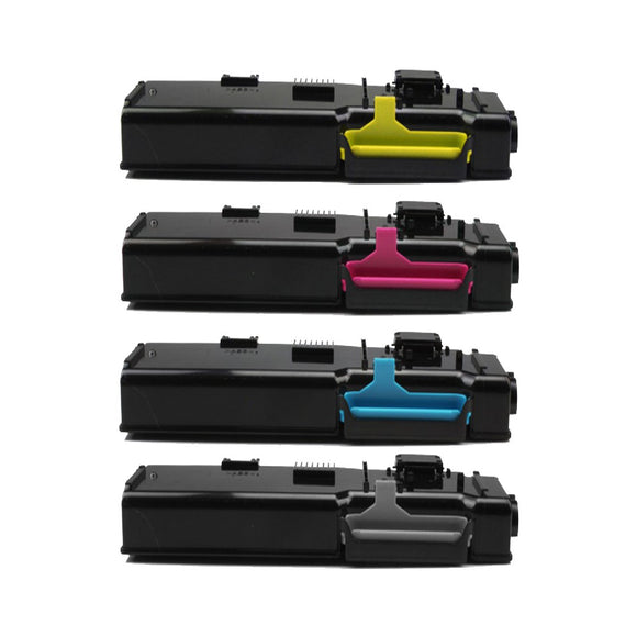 Xerox 6605 Multipack Compatible Toner Cartridges x 4