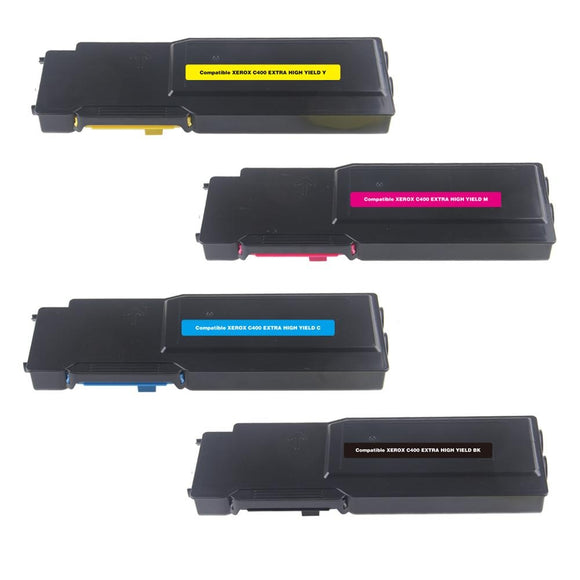 Xerox Versalink C405 Value Pack x 4 Compatible Toner Cartridges