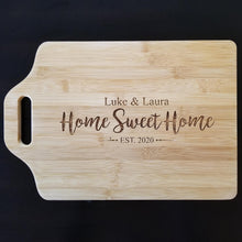 "Load image into Gallery viewer, Bamboo Cutting Board - 13"" x 9"""