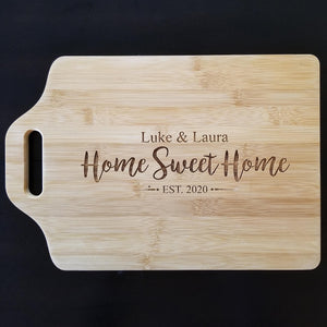 "Bamboo Cutting Board - 15"" x 10"""