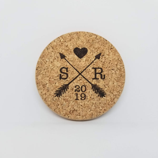 Cork Coasters - Personalized