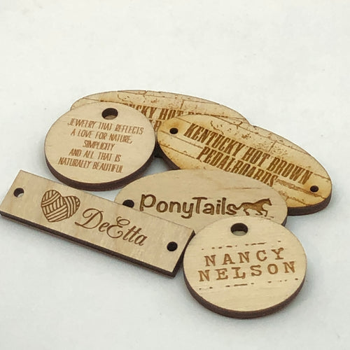 Custom Engraved Hang Tags