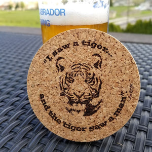 Tiger King Quotes Coaster Set of 4