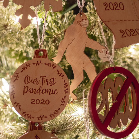 2020 Holiday Ornaments