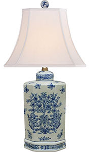 Porcelain Blue& White Table Lamp