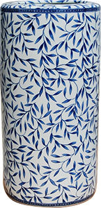 Porcelain Blue& White Bamboo Umbrella Stand