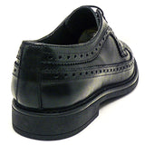 -40% Uomo Crown Derby nera in Vera Pelle Made in Italy