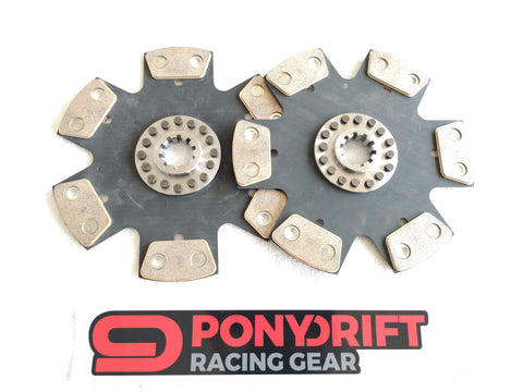 Tenaci Clutch Disc 228mm 6 PAD