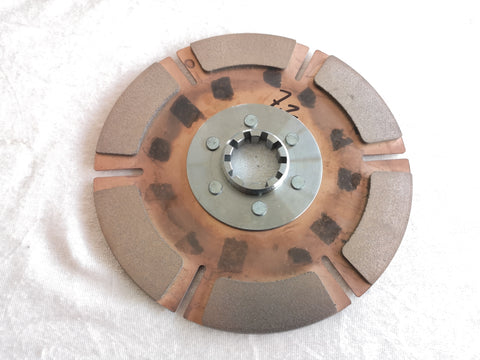 Tenaci Clutch Disc 184mm Copper