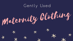 gently used maternity clothing second hand thrift maternity clothes