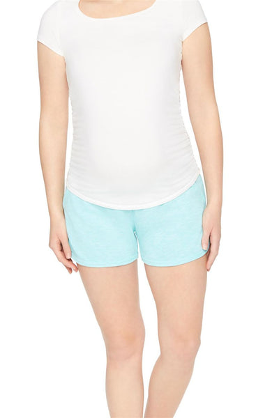 Motherhood Maternity Under Belly French Terry Shorts