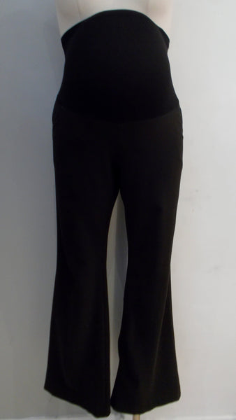 Rhonda Maternity Black Straight Leg Dress Pants