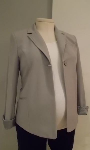 Jules and Jim grey spring blazer