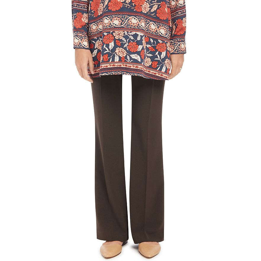 Motherhood Maternity chocolate brown suiting pants
