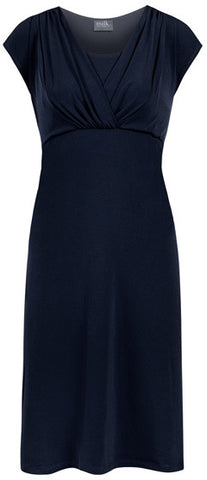 Milk Nursingwear celebrations nursing dress Navy
