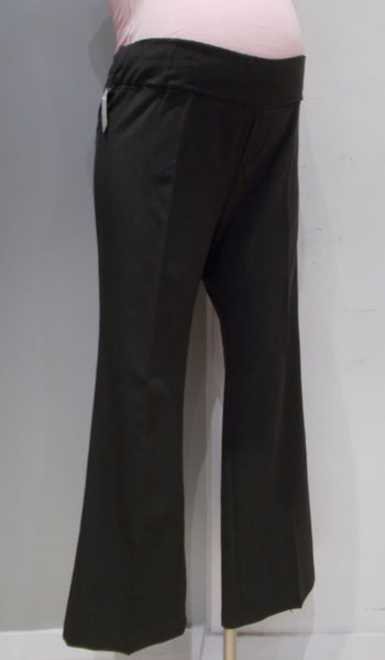 Tomorrow's Mother Maternity grey straight leg dress pants