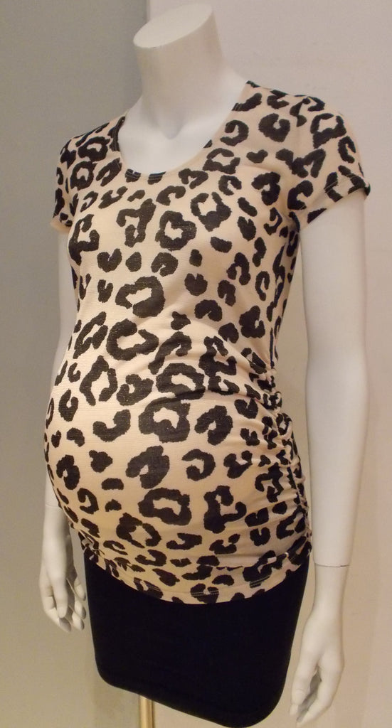 Belly Maternity leopard print top