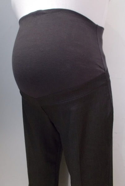 Thyme Maternity dark grey straight leg dress pants