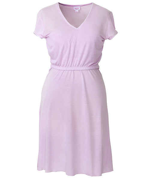 Boob Design Nursing Nightdress with Smart Pockets