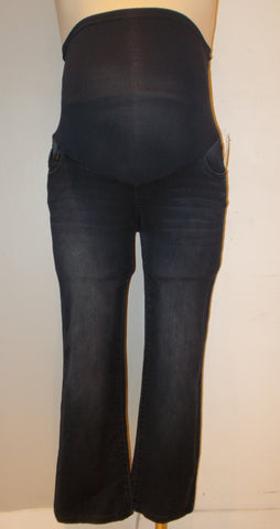 Celebrity Pink dark wash full belly panel flare jeans