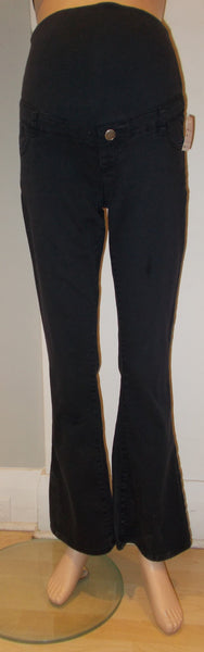 "Thyme Maternity navy bootcut pants 31"" inseam"