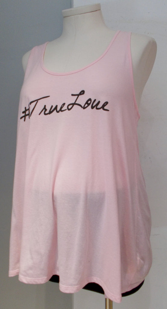 Motherhood Maternity bump in the night pink #TrueLove tank