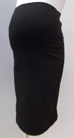 Thyme Maternity Black Pencil Skirt