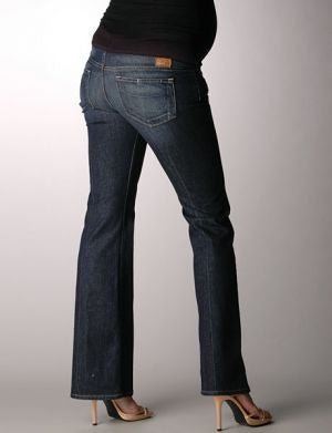 "Paige Denim Laurel Canyon Maternity Low Rise Bootcut Jeans Size: 28 / 29""L"