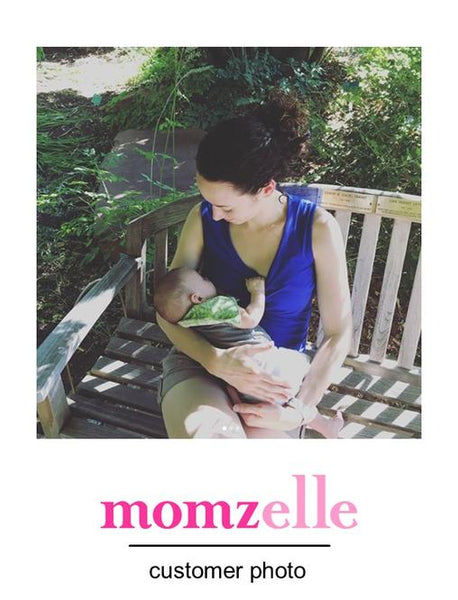 Momzelle Maternity/Nursing tank Lucy