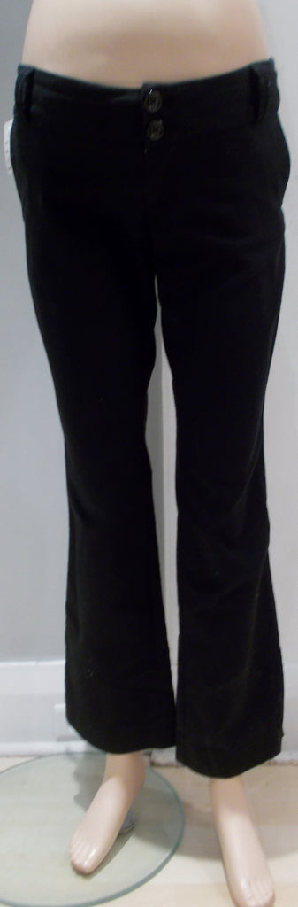 "Old navy Maternity black stretch underbelly straight leg dress pants 31"" inseam"