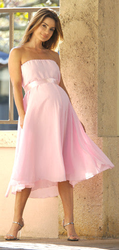 NICOLE MICHELLE - Audrey Pink Maternity Dress - Size 2X