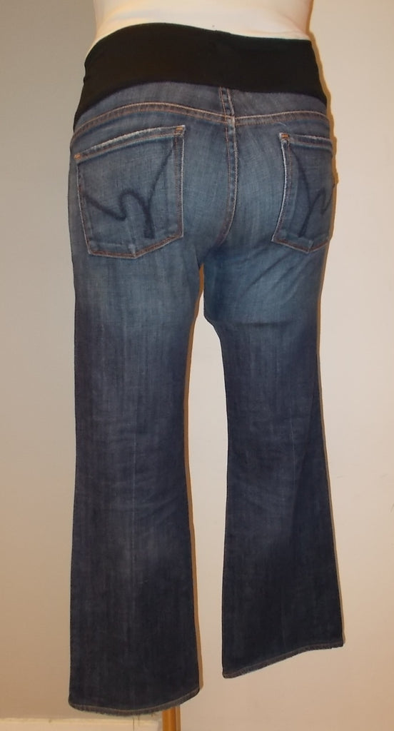 "Citizens of Humanity Maternity Bootcut Jean Size: 29 /31""L"